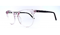 Rose Transparent, Modell D901-3, Farbe Weiss