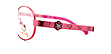 Hello Kitty rosa, Modell MM059-10, Farbe Pink - Detailansicht